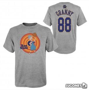 Granny Space Jam Tune Squad Short Sleeve T-Shirt