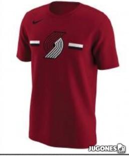 Camiseta Nike Portland Trail Blazers Jr