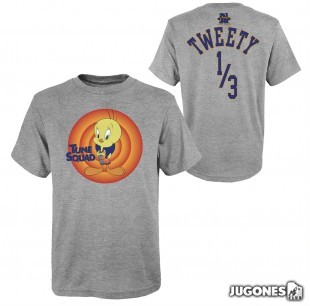 Tweety Bird Space Jam Tune Squad Short Sleeve T-Shirt