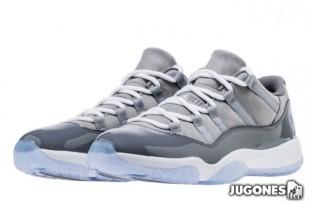 Jordan 11 Retro Low`Cool Grey`(GS)