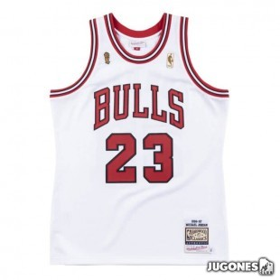 Authentic Jersey Chicago Bulls 1996-97 Michael Jordan