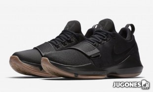 PG 1 `Black Gum` basketball shoes