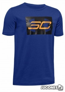 Camiseta SC30 Curry Branded jr