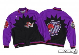Chaqueta 1995-96 Authentic Warm Up Toronto Raptors