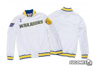 Chaqueta 1996-97 Authentic Warm Up Golden State Warriors