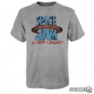 Camiseta Space Jam Flat Logo