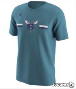 Camiseta Nike Charlotte Hornets Jr