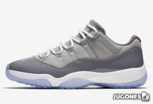 Jordan 11 Retro Low`Cool Grey`