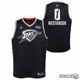 Camiseta All Star Rusell Westbrook Negro Jr