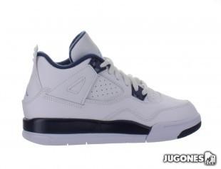 Nike Air Jordan 4 Retro Columbia (PS)