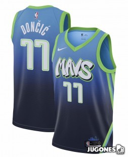 City Edition Dallas Mavericks Luka Doncic Jr