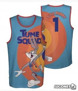 Camiseta Space Jam Bugs Bunny algodon Boxed Out Kids