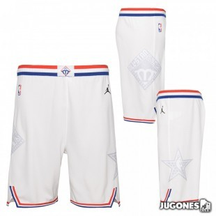 NBA All Star White Jr Pants