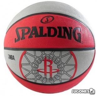 Balon Spalding team balls Houston Rockets Talla 7