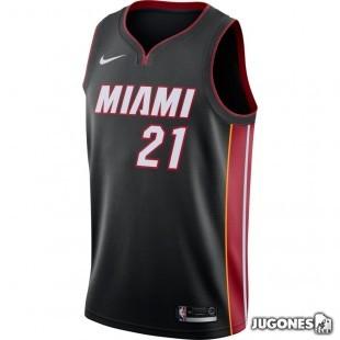 Camiseta NBA Swingman Whiteside Miami