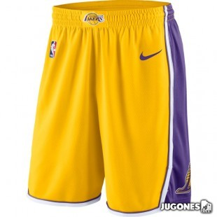Nike Swingman Lakers short