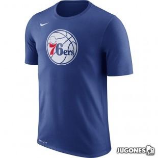 Camiseta Nike Dry Logo Philadelphia 76ers