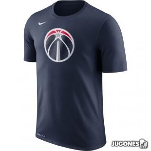 Camiseta Nike Dry Logo Washington Wizards