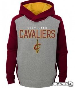 Sudadera Fadeaway Pullover Cavaliers Kids