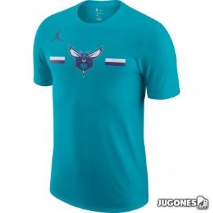 Jordan Dry Logo Charlotte Hornets T-shirt