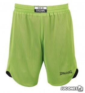 Pantalón corto baloncesto reversible