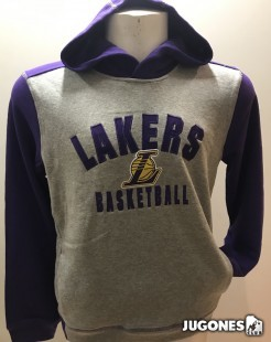 Retro Block NBA Jr Angeles Lakers Hoodie