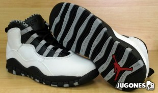 Nike Air Jordan 10 `Steel` PS