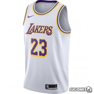 Camiseta Swingman Edition Angeles Lakers `Lebron James`