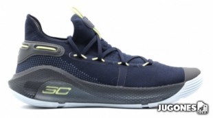 Curry 6 Dark Blue