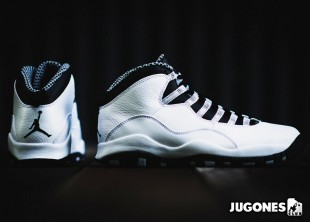 Nike Air Jordan 10 `Steel` GS