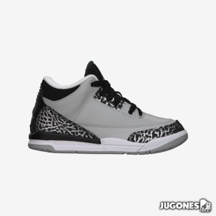 Nike Air Jordan 3 Wolf Grey PS