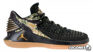 Jordan XXXII Low GS Camo