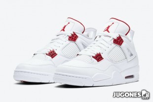 Jordan 4 Retro (GS) Metallic Red