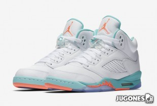 Jordan 5 Retro GS `Light Aqua`