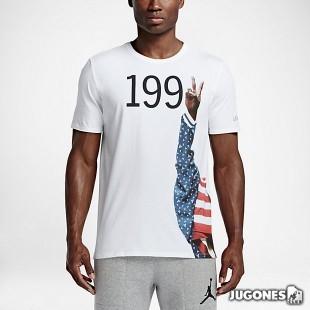 Camiseta Jordan AJ 7 Pure Gold