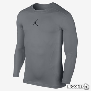 Camiseta Compression Jordan AJ All Season manga larga