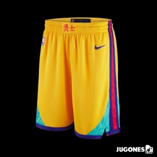 Pantalón Corto Nike NBA Warriors