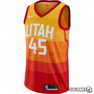 Camiseta NBA Utah Jazz Donovan Mitchell City Edition