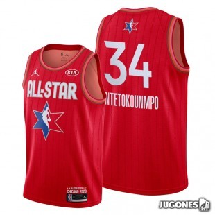 Camiseta NBA All Star 2020 Giannis Antetokounmpo