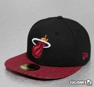 New Era Tonalzebra Miami  Jr Hat