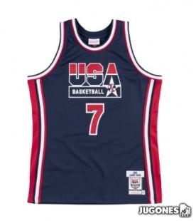 Camiseta NBA Autentica 1992 Larry Bird