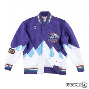 Authentic Warm Up Jacket Utah Jazz 1997-98