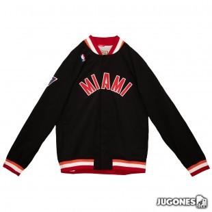 Authentic Warm Up Miami Heat 1996-97 Jacket