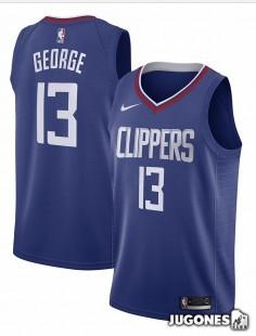 Big Kids` NBA Paul George Jersey