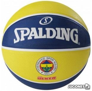 Balon Spalding team balls Fenerbahce Talla 7