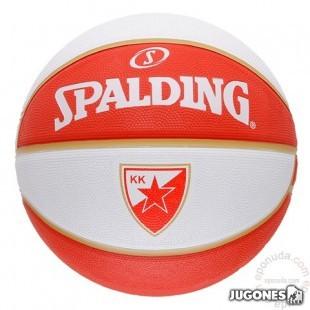 Balon Spalding team balls Belgrado  Talla 7
