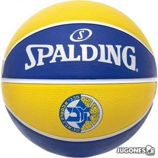 Balon Spalding team balls Maccabi  Talla 7
