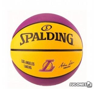 Balon Spalding NBA Lakers talla 5