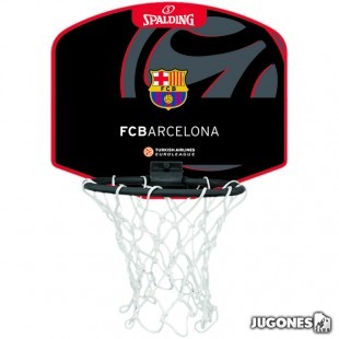 Mini Canasta Spalding Barcelona