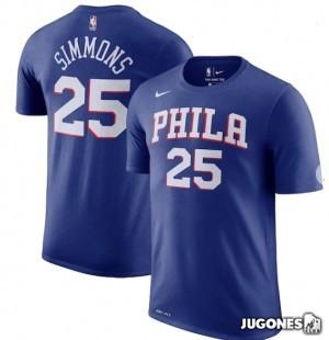 Camiseta  Philadelphia 76Ers Ben Simmons Jr